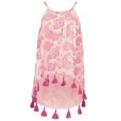 Young Original Girls' Woven Tassel Top