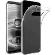 Galaxy S8 Plus Case, Tauri [Scratch Resistant] Slim Thin Clear Flexible [Soft TPU] Protective Case Cover For Samsung Galaxy S8 Plus - Clear