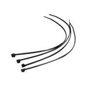 CatEye 4 X Zip Ties Bracket Cycle Computers - Black, NO SIZE