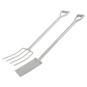 Westminster Spade and Fork Set with Steel Handle