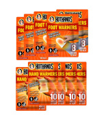 Hot Hands Hand and Feet Warmers - 10 Pairs