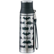 Batman logo water bottle /330629 (SMMC5) 500 ml /DC Comics /BATMAN /skater/ lunch outdoors.