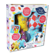 In the Night Garden Throw and Count Haahoo's Game