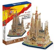 3D solid puzzle Sagrada Familia MC153h