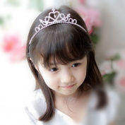 Princess glitter tiara for the diamond child shining to & cross