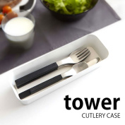 Hold mosquito thoraLee Kay ska Tralee tower CUTLERY CASE storing tray accessory case pen; mosquito thorarhebok kitchen article Shin pull modern kitchen utensils black kitchen tool kitchen 224536
