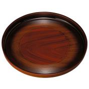 Kishu fill eight round basin wood