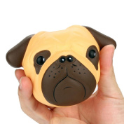 Mingfa Squishy Slow Rising Exquisite Fun Crazy Dog Stress Toys Simulation Kid Sensory Toys for Autism ADD ADHD 8CM