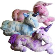 80cm Giant Large Plush Unicorn Stuffed Huge Soft Cuddling Toy Lying Horse Teddy