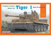 Dragon 1/72 Pz.Kpfw.VI Tiger 1 Early version # 7482