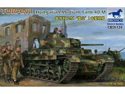 Bronco Models CB35120 Model Kit Hungarian Turan I Medium Tank 40.m Game