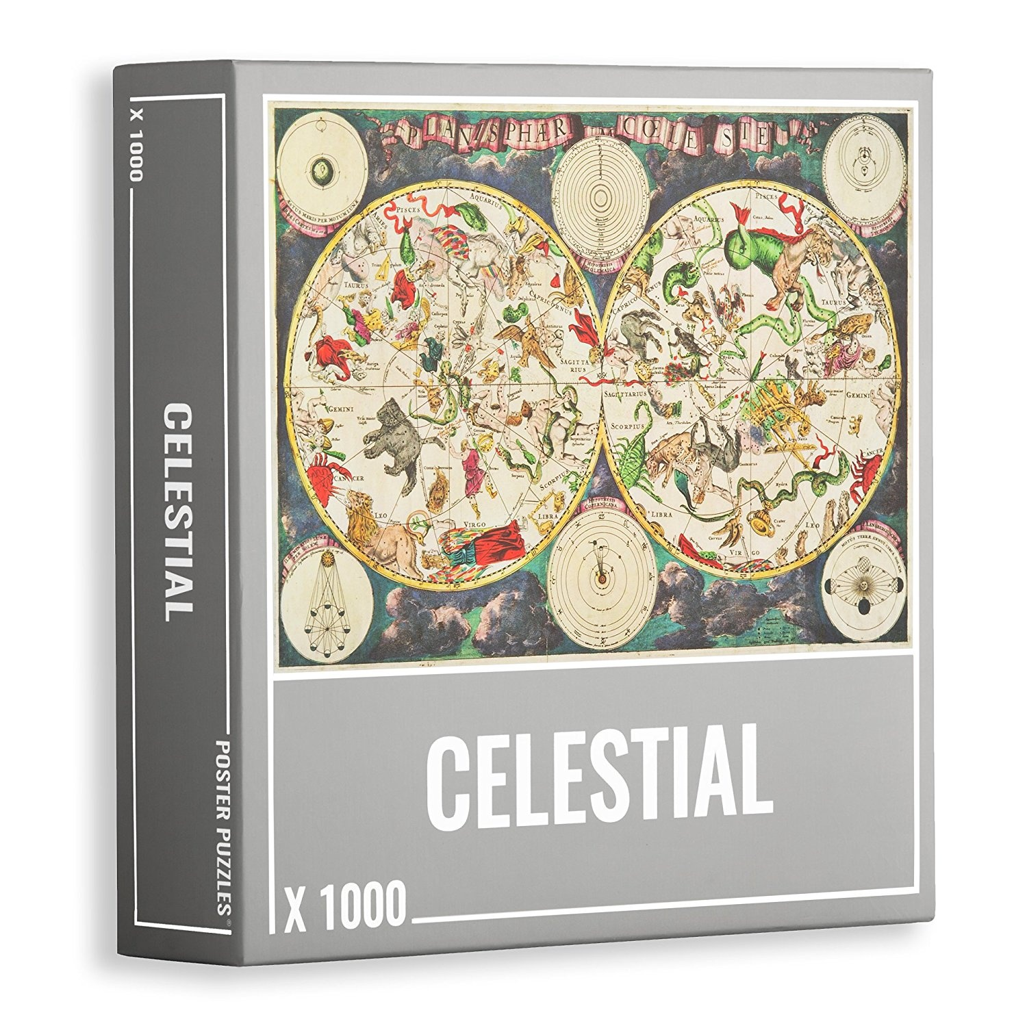 Map Of Australia Jigsaw Puzzle.Celestial Star Map Premium 1000 Piece Jigsaw Puzzle For Adults