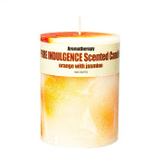 Orange and Jasmine Scented Candle (430 g) - Handmade! Long lasting, over 100 hours!