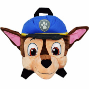 Paw Patrol Childrens/Boys Official Chase Shaped Plush Backpack