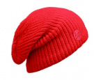 Buff Hat Knitted Drip Orange