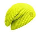 Buff Hat Knitted Drip Yellow
