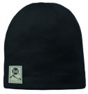 Buff Hat Knitted Polar Solid Black