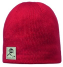 Buff Hat Knitted Polar Solid Red