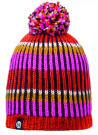 Buff Hat Knitted Troy Pink