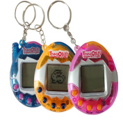 Virtual Pets Key Chain 90S Nostalgic Cyber Pet Toy keyring Funny Gifts Toy