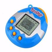 Kamoku101 1PC Funny Retro 49 Pets in One Virtual Pet Cyber Toy Tamagotchi Digital Pet Keyring