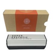 Super Exstatic Anti Static Carbon Fibre & Velvet Vinyl Record Cleaner Dust Cleaning Brush Pad