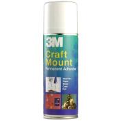 3M CraftMount YP208060159 Spray Permanent Adhesive - 200 ml
