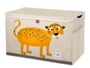 3 Sprouts Toy Chest, Leopard Colour