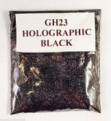 (GH23 - Holographic Black Smoke 10g) Cosmetic Glitter Glitter Eyes Glitter Tattoo Glitter Lips Face And Body Bath Bombs Soap