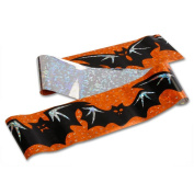 Peeks Bats Halloween Decorations Indoor Outdoor Holographic Banner 90 x 10cm