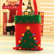 Nikgic Christmas Candy Gift Bag Candy Storage Bags Candy Pouch Handbag Gift Treat Bag Goodie Bag