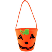LAAT Halloween Pumpkin Candy Bag Pop Up Candy Sweets Loot Bag Dead Saints Eve Gift Baskets Coin Storage Pouch Packet for Girls Boys