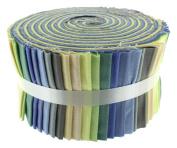 Fabric Freedom Powder Blues Freedom Roll, 100% Cotton, Multicoloured, 13 x 13 x 7 cm