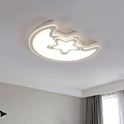 Buluke Simple Living room Study Bedroom Children's Room Star Moon Ceiling light
