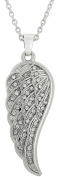 Cute Crystal Angel Wing Pendant Necklace For Girls/Women Jewellery