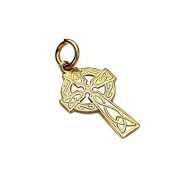Sayers London 9ct Gold Celtic Cross Pendant