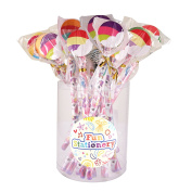 24 x Unicorns Pencils With Novelty Erasers Toppers - Wholesale Bulk Buy