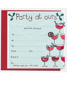 Christmas Party Invitations by Molly Mae