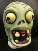 Zombie From Plants Vs Zombies - Natural Latex Style Mask - Universal Sizing For All Ranges