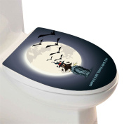 THEE Toilet Decorative Sticker for Halloween