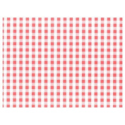 100 Place Mats Paper 30cm X 40cm Red Gingham Party Dinner Tableware Food Sheets Basket Liner BBQ Garden Picnic Decoration Catering Wedding Birthday