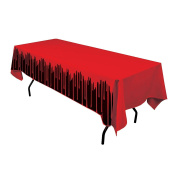 Bloody Halloween Party Food 137 x 274cm Tablecloth