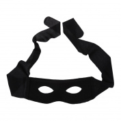 Eye Mask Costume Mask highwayman robber Fancy Dress Black Bandit Thief
