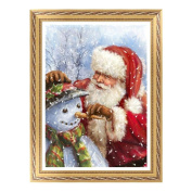 YOUBETTER Christmas 5D Embroidery Paintings Rhinestone Pasted diy Diamond painting Cross Stitch