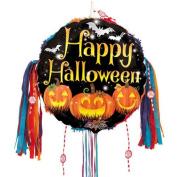 Happy Halloween Pumpkins Pull String Pinata
