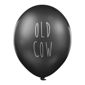 "Rude Balloons – ""Old Cow"" x 5 - Abusive birthday party balloons for her"