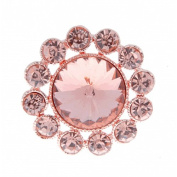Corsage Creations - Centre of Attention Brooch Pin - Rose Gold