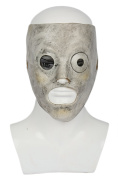 Corey Mask Cosplay Costume Deluxe Latex Metal Band Fancy Dress Merchandise for Adult Men Halloween Clothing Accessories