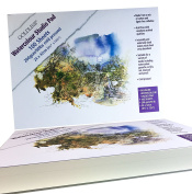 Goldline - 200gsm Watercolour Pad. 100 High Quality Sheets. Cold Pressed.