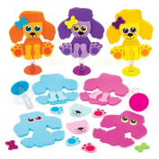 Dog Jump-up Kits for Children to Design Make and Decorate - Creative Craft Toy Set for Kids